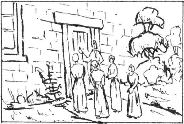 Foolish Virgins at the Door