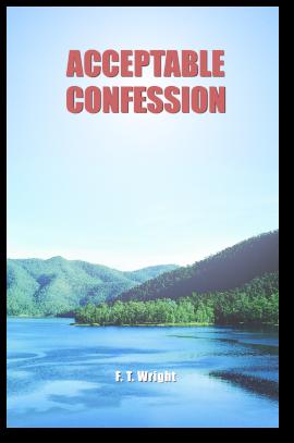 Acceptable Confession