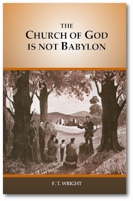 The Church of God is not Babylon