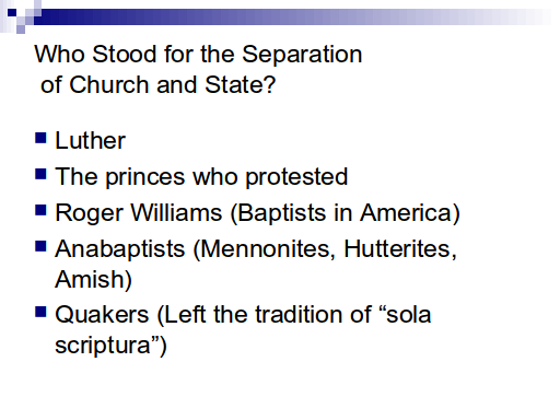 Church and State - Slide 12