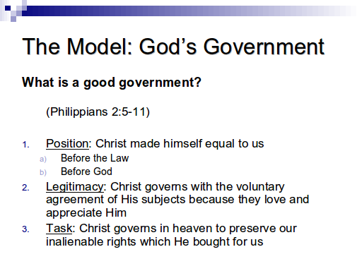 Church and State - Slide 17