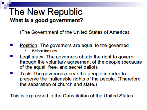 Church and State - Slide 20